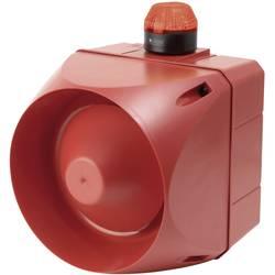 Kombinirani oddajnik signala LED Auer Signalgeräte ACL rdeča bliskavica 24 V/DC, 24 V/AC 120 dB
