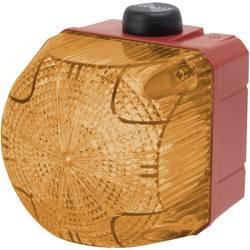 Kombinirani oddajnik signala LED Auer Signalgeräte QSS oranžna neprekinjena luč, utripajoča luč 230 V/AC 85 dB