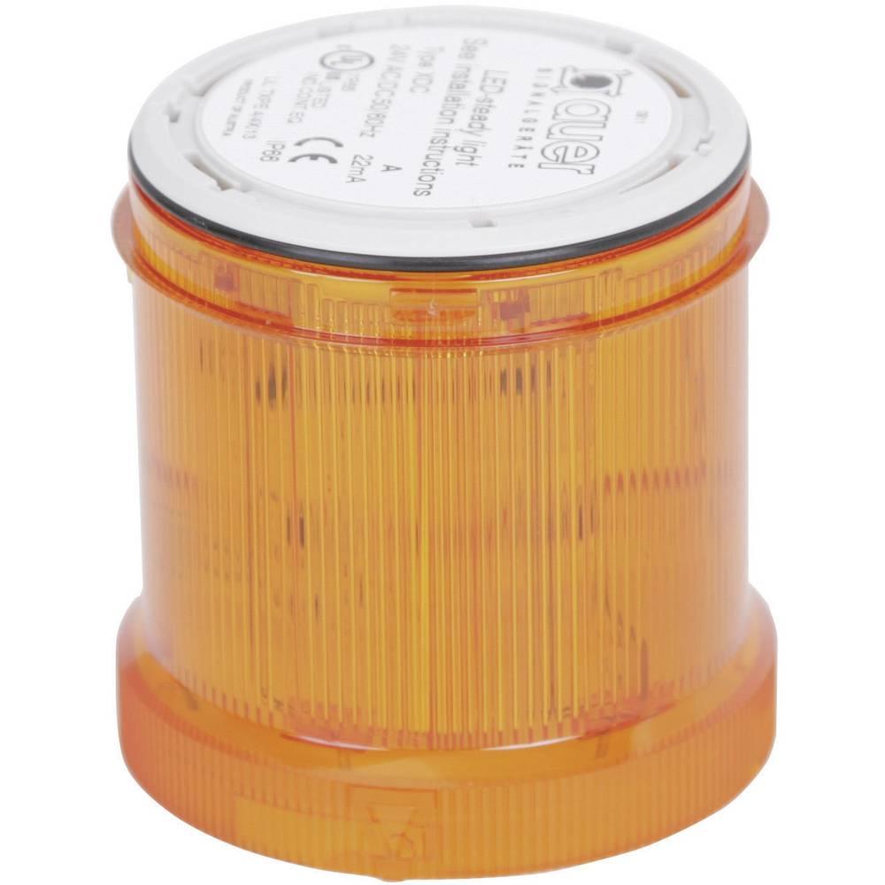 Signalni svetlobni modul Auer Signalgeräte XDC oranžna neprekinjena luč 230 V/AC