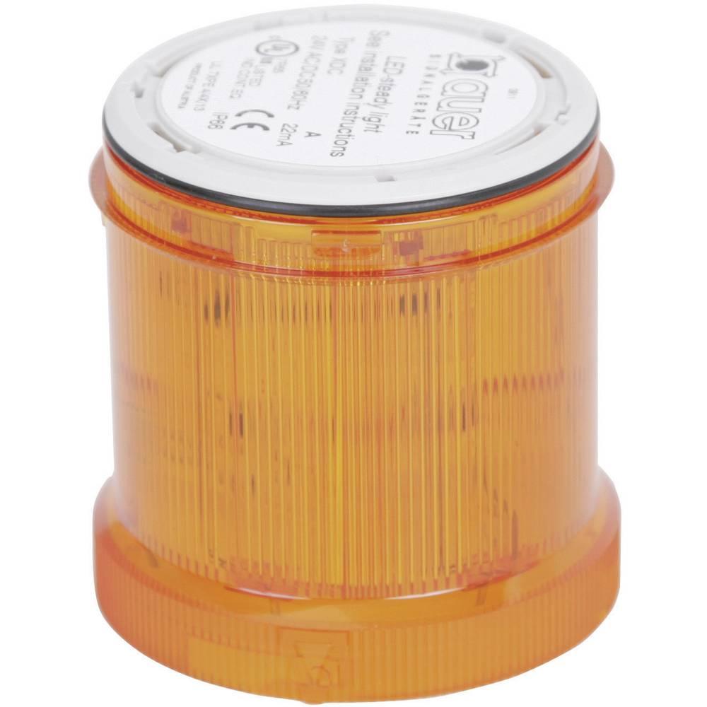 Signalni svetlobni modul Auer Signalgeräte XDA oranžna utripajoča luč 24 V/DC, 24 V/AC