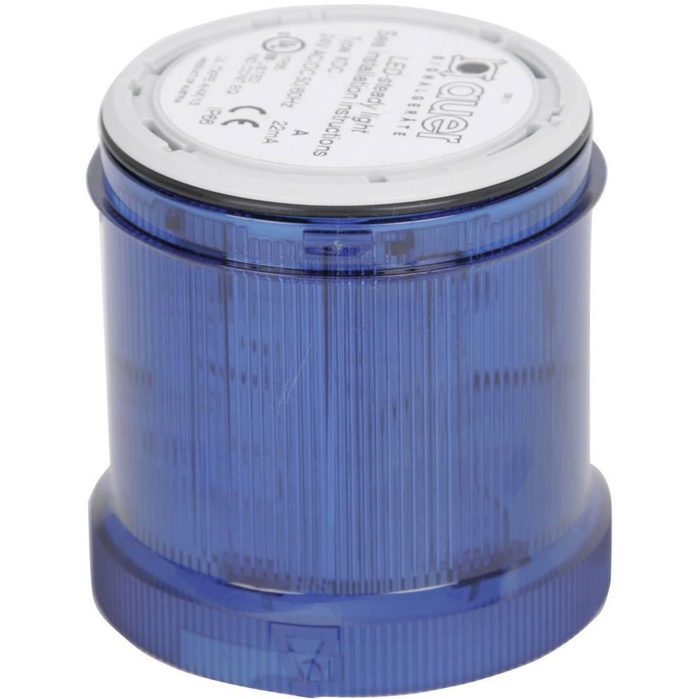 Signalni svetlobni modul Auer Signalgeräte XDC-HP modra neprekinjena luč 24 V/DC, 24 V/AC