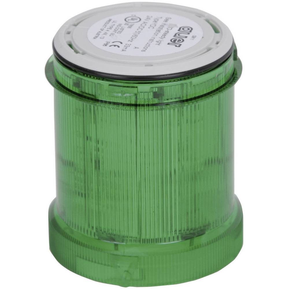 Signalni svetlobni modul Auer Signalgeräte YLL zelena neprekinjena luč 12 V/DC, 12 V/AC, 24 V/DC, 24 V/AC, 48 V/DC, 48 V/AC, 110