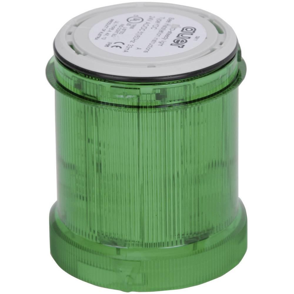 Signalni svetlobni modul Auer Signalgeräte YDC zelena neprekinjena luč 230 V/AC