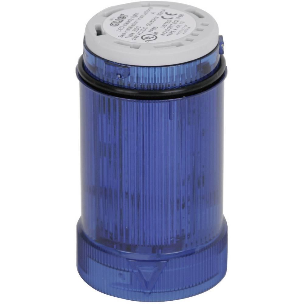 Signalni svetlobni modul Auer Signalgeräte ZLL modra neprekinjena luč 12 V/DC, 12 V/AC, 24 V/DC, 24 V/AC, 48 V/DC, 48 V/AC, 110