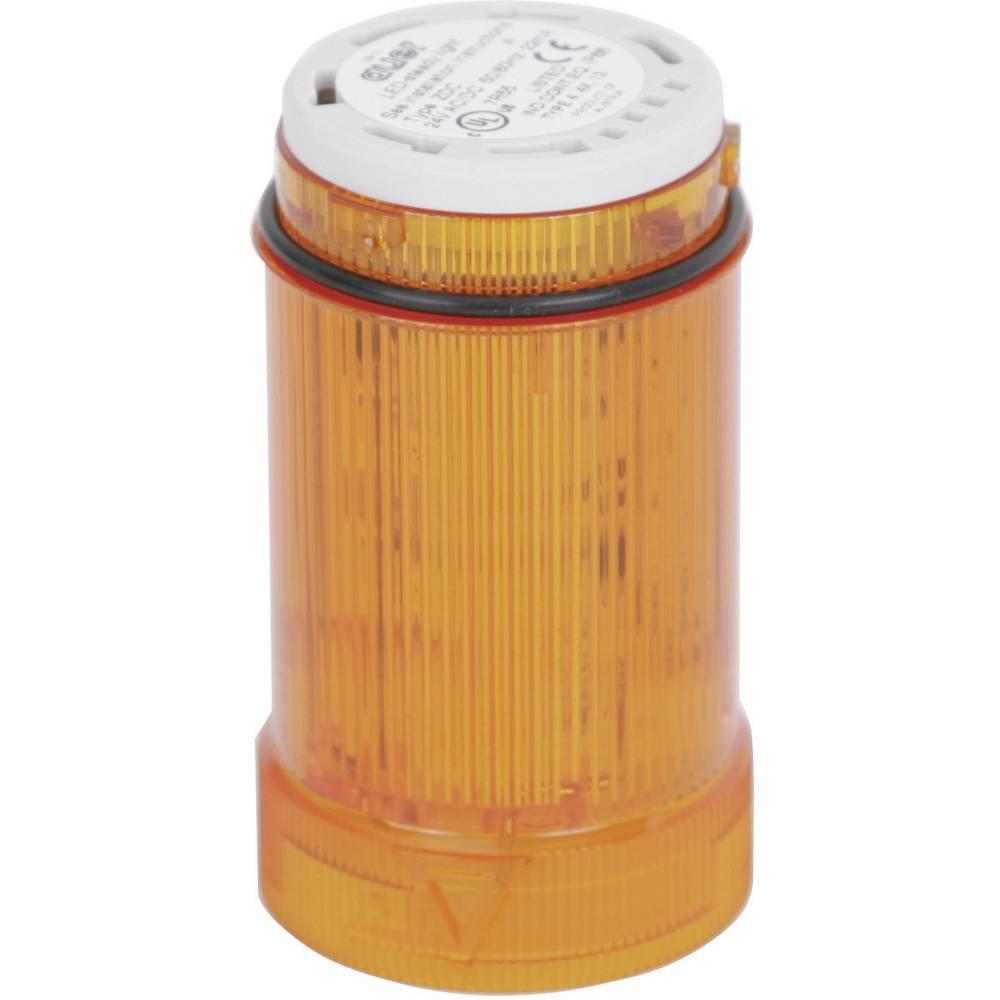 Signalni svetlobni modul Auer Signalgeräte ZDA oranžna utripajoča luč 24 V/DC, 24 V/AC