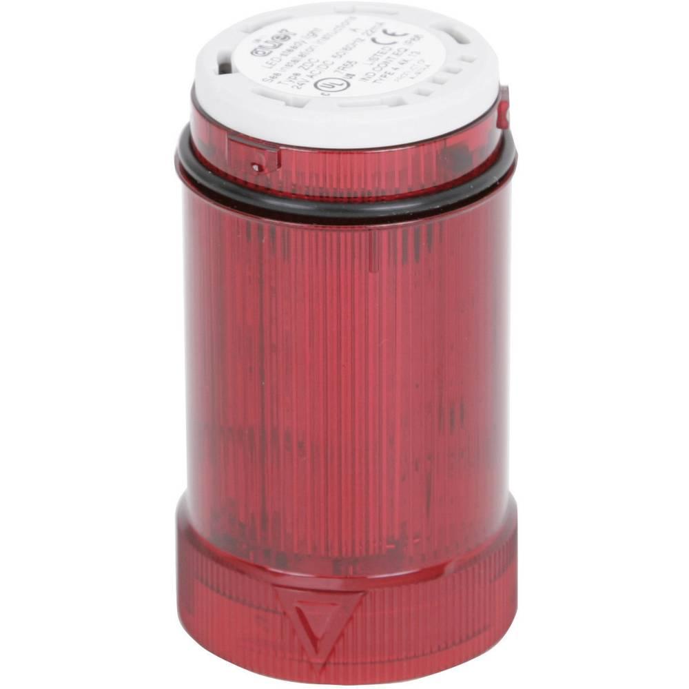 Signalni svetlobni modul Auer Signalgeräte ZDA rdeča utripajoča luč 24 V/DC, 24 V/AC