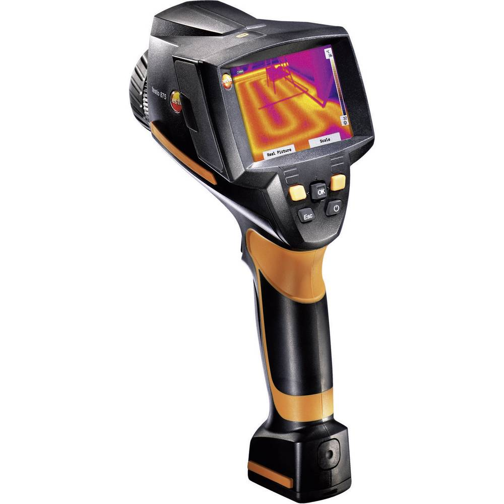Termovizijska kamera Testo 875-2i+ tipalo za vlago + Super resolucija -30 do 350 °C 320 x 240 pikslov 33 Hz