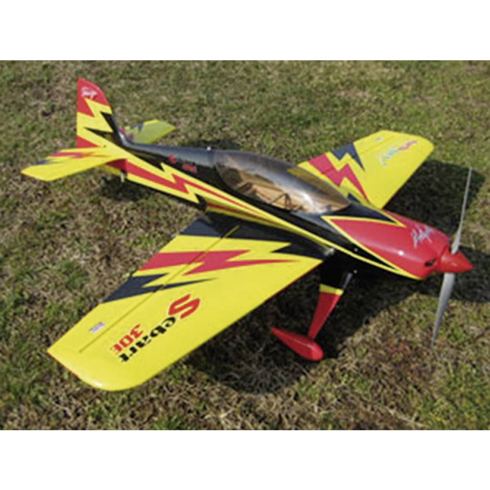 Model letala Sebart 50E, rumeno-črn, komplet za sestavljanje, dolžina: 1.530 mm 21628807