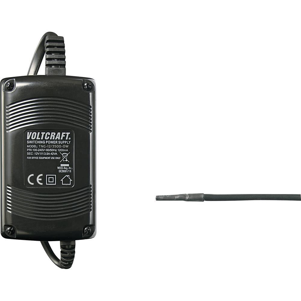 Namizni napajalnik, s stalno napetostjo VOLTCRAFT TNG-12/3500-OW 12 V/DC 3500 mA 42 W