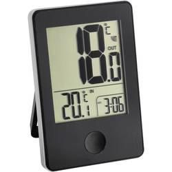 Bežični termometar sa satom TFA, crne boje 30-3051-01