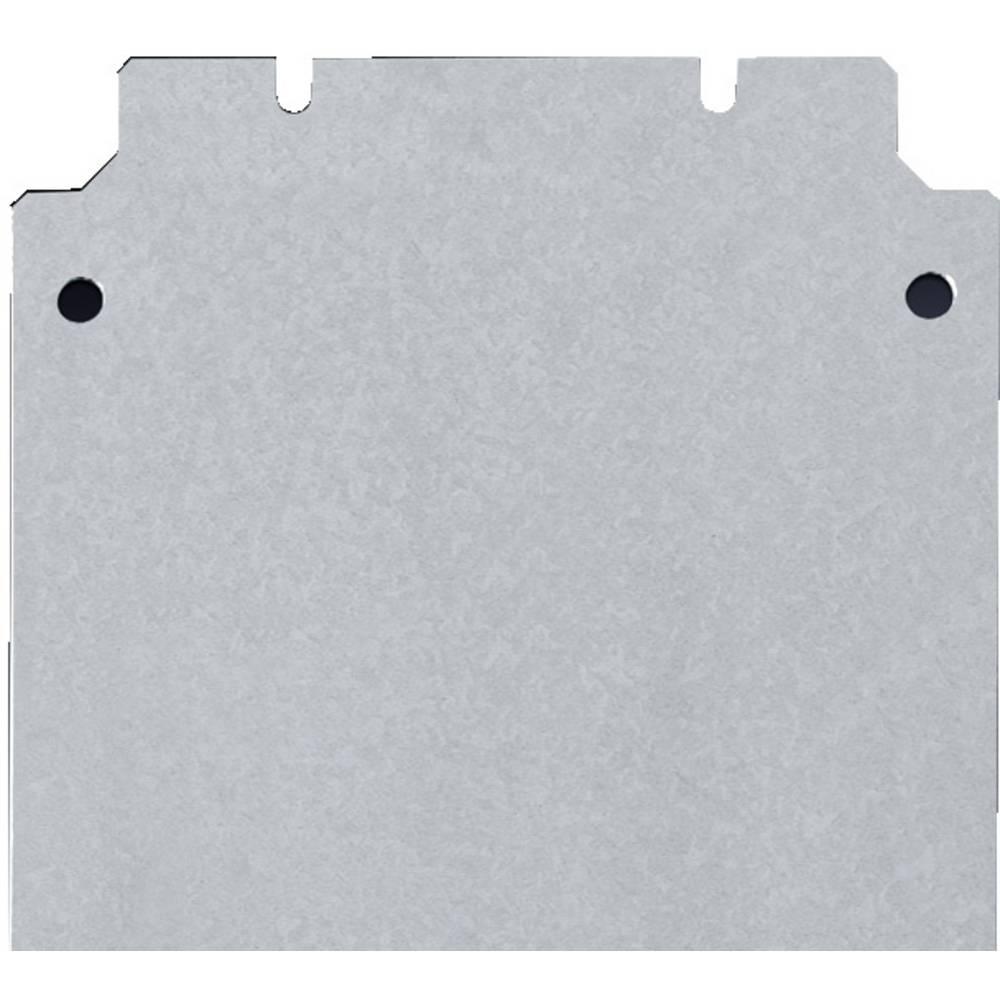 Monteringsplade Rittal KL 1566.700 (B x H) 600 mm x 200 mm Stålplade 1 stk