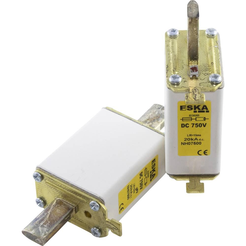 Nizkonapetostna močnostna varovalka TIPA 0, 750 V DC, 80 A NH 0 750V DC 80A ESKA