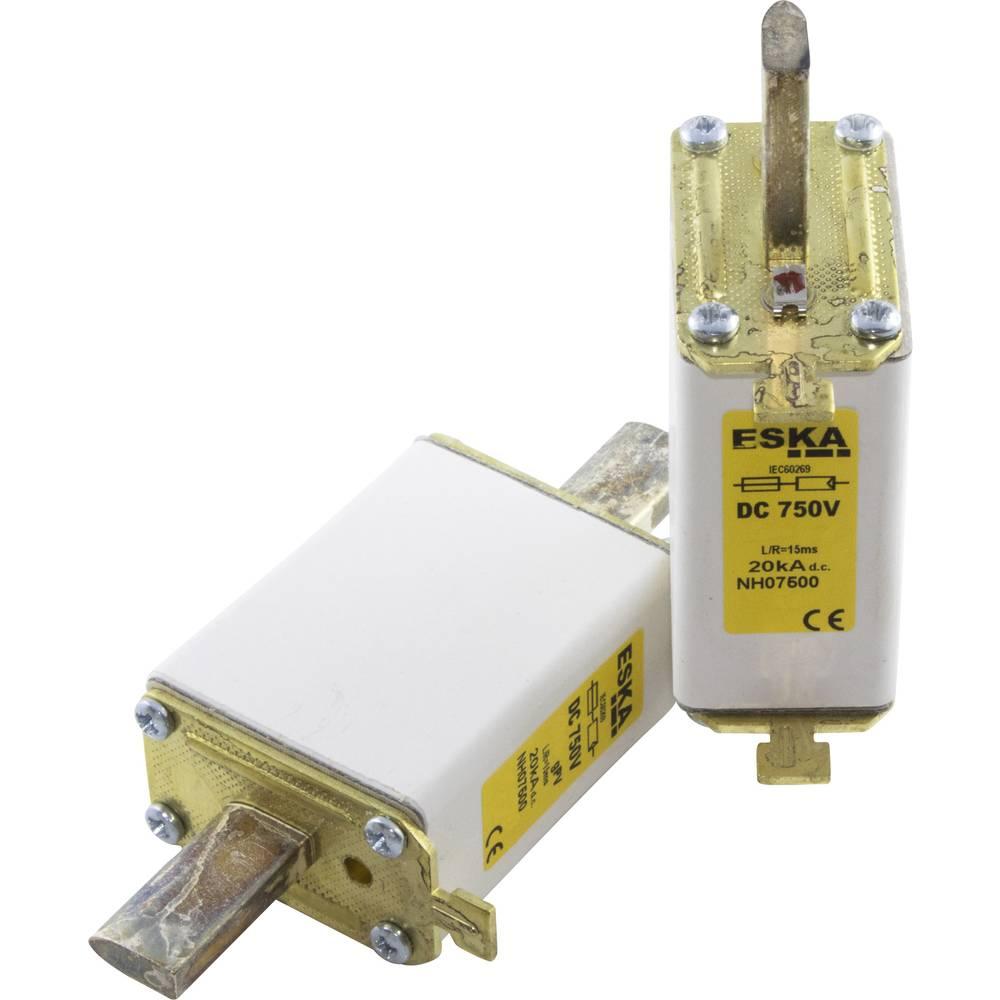 Nizkonapetostna močnostna varovalka TIPA 0, 750 V DC, 100 A NH 0 750V DC 100A ESKA