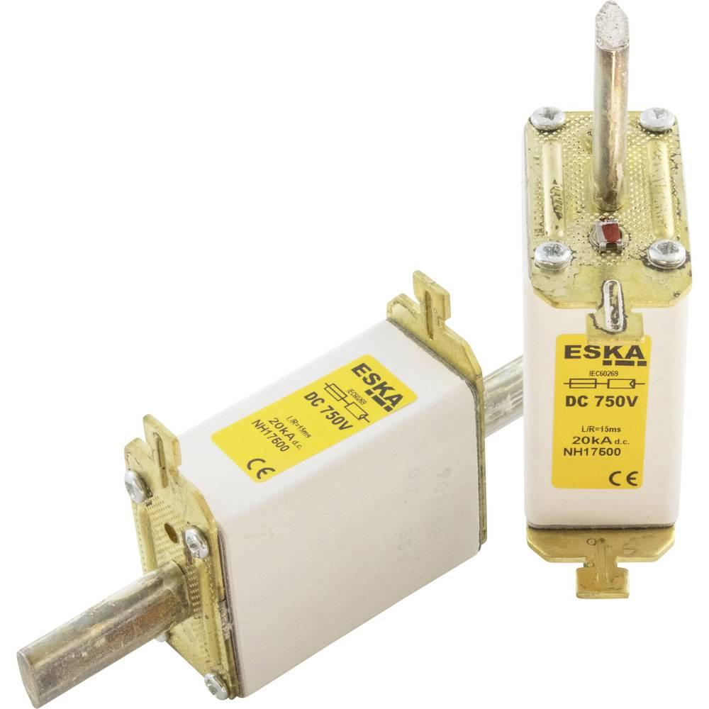 NH-sikring Sikringsstørrelse = 1C 50 A 750 V/DC ESKA NH 1C 750V DC 50A