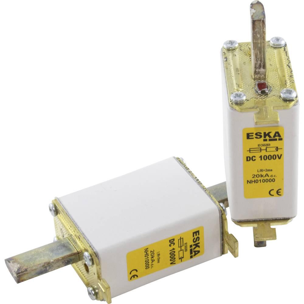 Nizkonapetostna močnostna varovalka TIPA 0, 1000 V DC, 100 A NH 0 1000V DC 100A ESKA