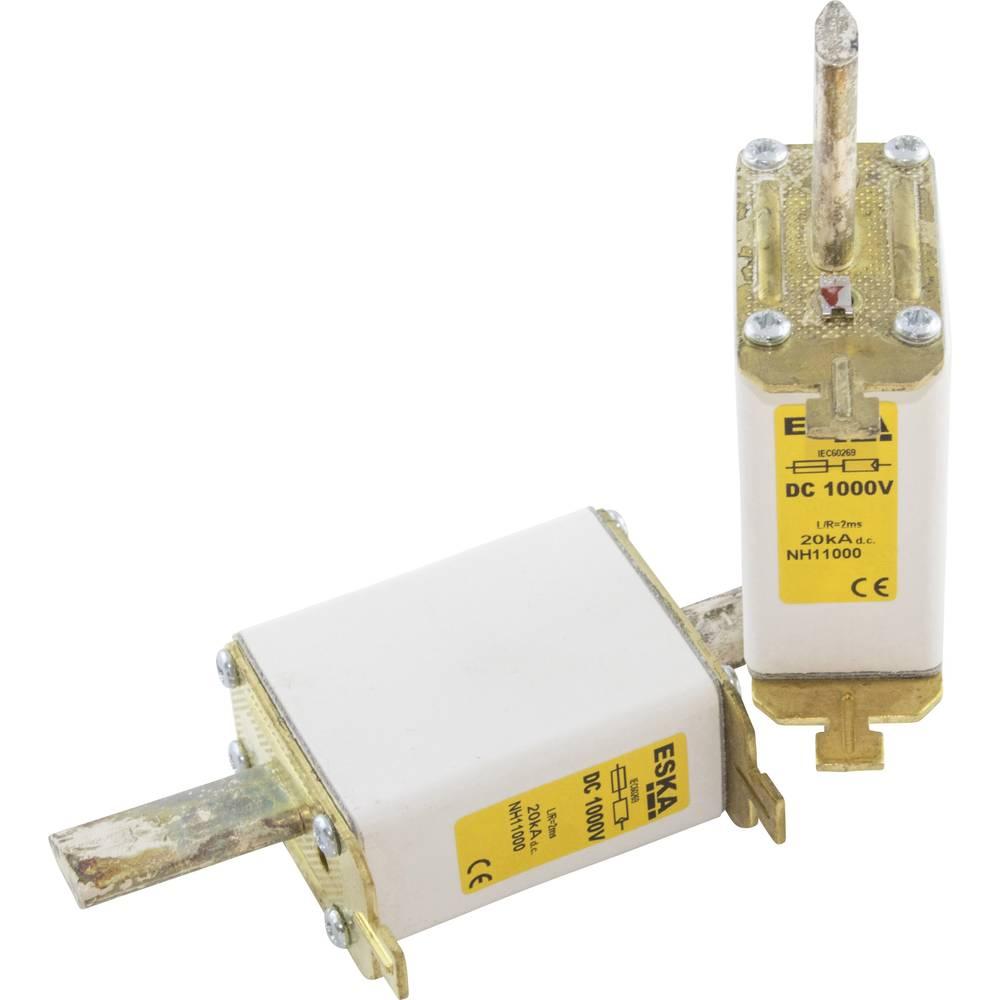NH-sikring Sikringsstørrelse = 1C 125 A 1000 V/DC ESKA NH 1C 1000V DC 125A