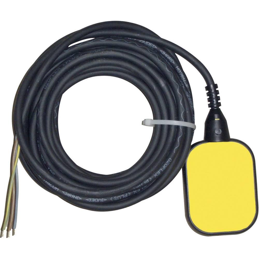 Plovno stikalo za praznjenje, 10 m, rumene in črne barve 14499 Zehnder Pumpen