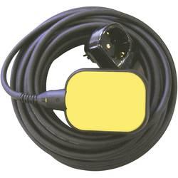 Plovno stikalo z vtičnim adapterjem, rumene in črne barve 11393 Zehnder Pumpen