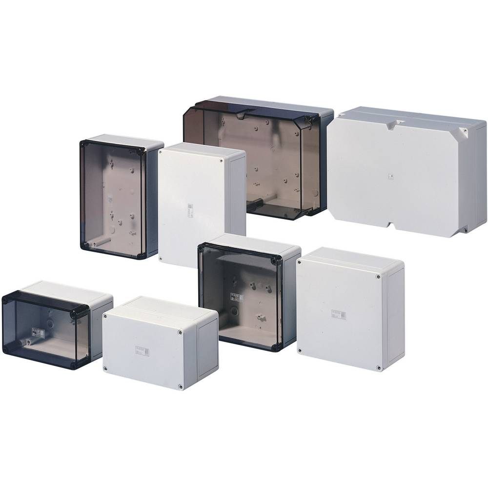 Rittal PK 9515.100-Instalacijsko kućište, polikarbonat, svijetlo sivo (RAL 7035), 180x110x111mm