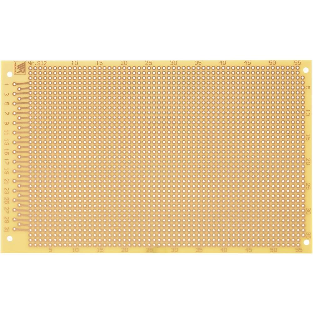 Laboratorijska plošča, C-912-HP (D x Ĺ x V) 160 x 100 x 1.5mm, raster: 2.54 mm WR Rademacher