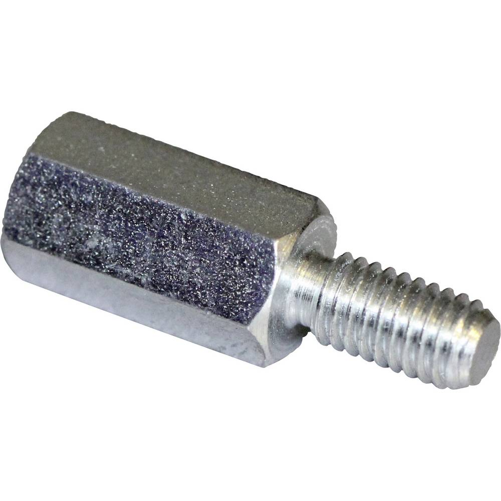 Afstandsbolte (L) 50 mm M4x9 M4x8 Stål verzinkt PB Fastener S47040X50 10 stk