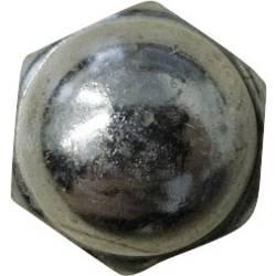 Sexkant-kupolmuttrar TOOLCRAFT M3 D1587-STAHL:A2K M3 DIN 1587 Stål förzinkad 10 st