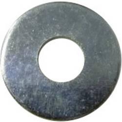 TOOLCRAFT podloške, unutarnji promjer: 2.5 mm M2.5 DIN 9021 čelik pocinčani 100 komada TOOLCRAFT 2,7 D9021:A2K 194721