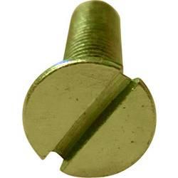 Försänkta skruvar TOOLCRAFT M2*6 D963-4.8:A2K M2 6 mm Spår N/A Stål förzinkad 100 st
