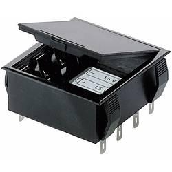 Vgradno držalo za baterije Bopla, za montažo na tiskana vezja, priključitev s spajkalnim jezičkom 46600000