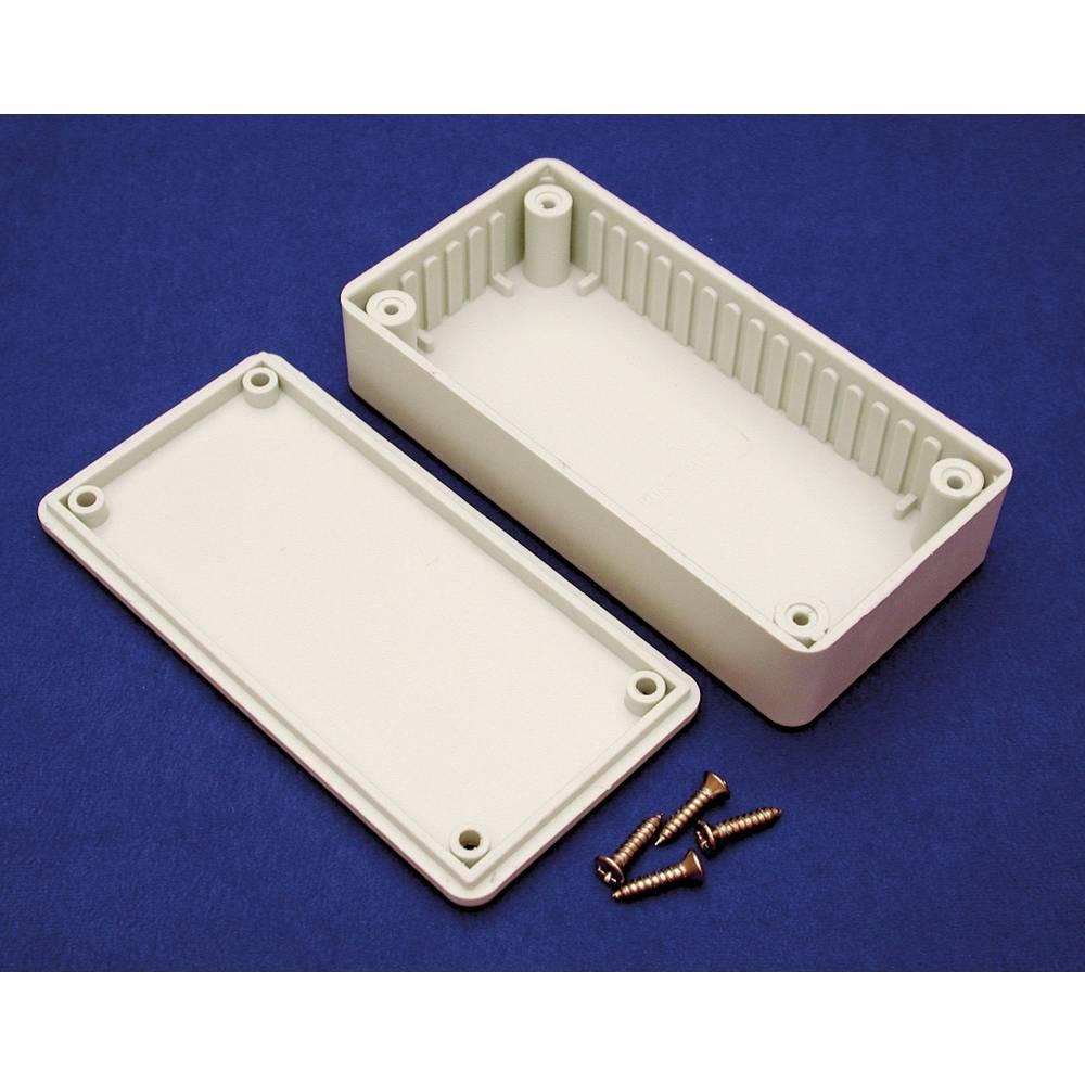 Hammond Electronics BOXE-Univerzalno kućište, ABS svijetlo sivo (RAL 7035), 191x110x61mm