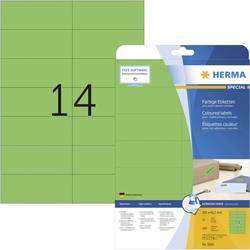 Herma 5061 Etikete 105 x 42.3 mm Papir Zelena 280 ST Trajno Univerzalne naljepnice, Signalne naljepnice Tinta, Laser, Kopija