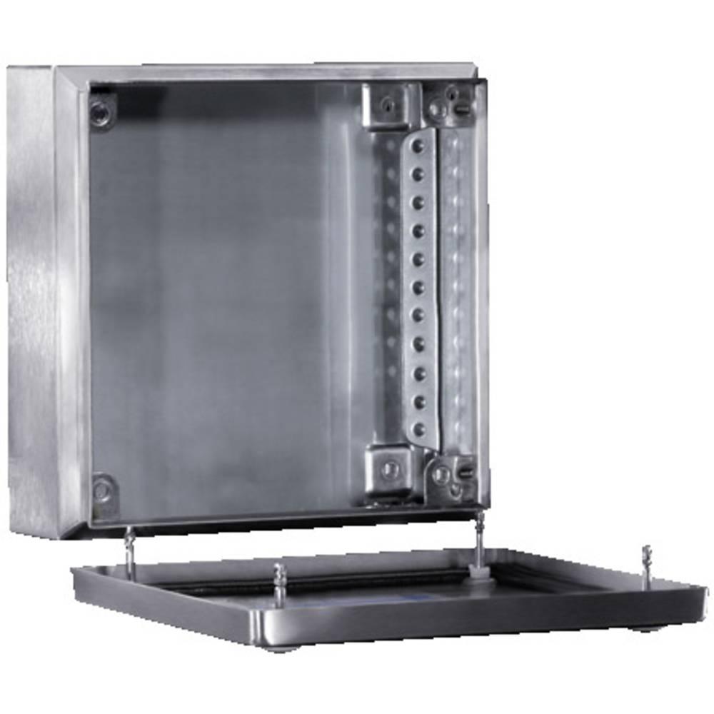 Rittal 1521.010-Instalacijsko kućište, nehrđajući čelik, 150x150x80mm