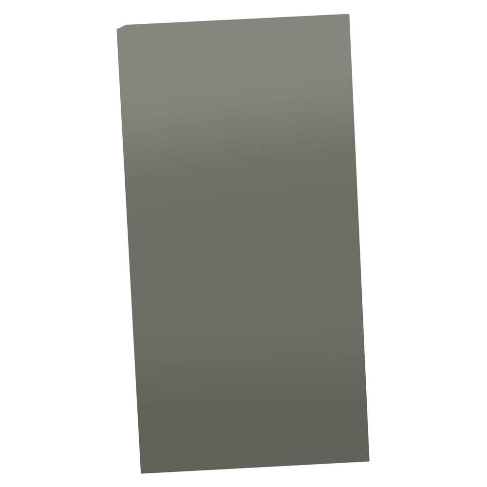 Strapubox plastična prednja ploča (DxŠ xV) 215 x 111 x 2 mm,siva KUNSTkomad-FP 215X111X2MM GRAU