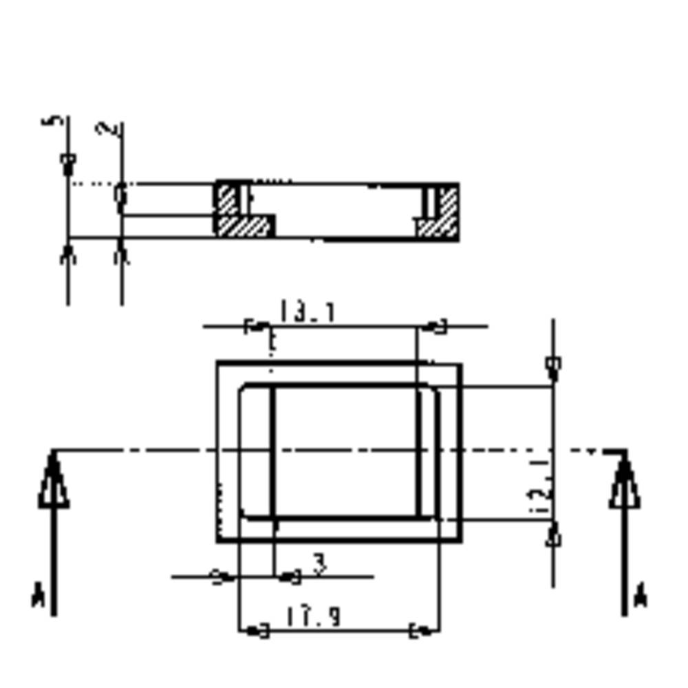 PB Fastener Push-Push crni 42-005664