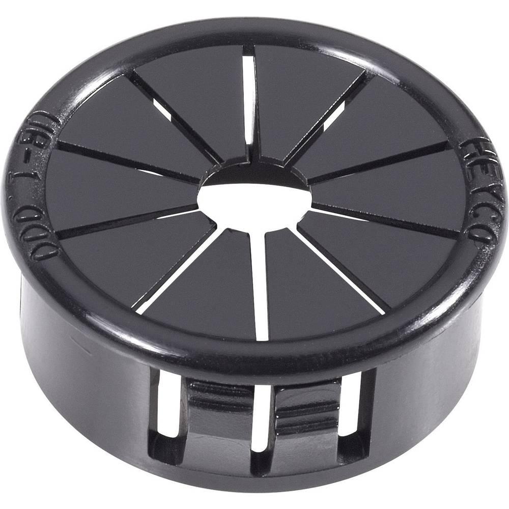 Kabelska uvodnica premer sponke (maks.) 19 mm poliamid črne barve PB Fastener AF1000 1 kos