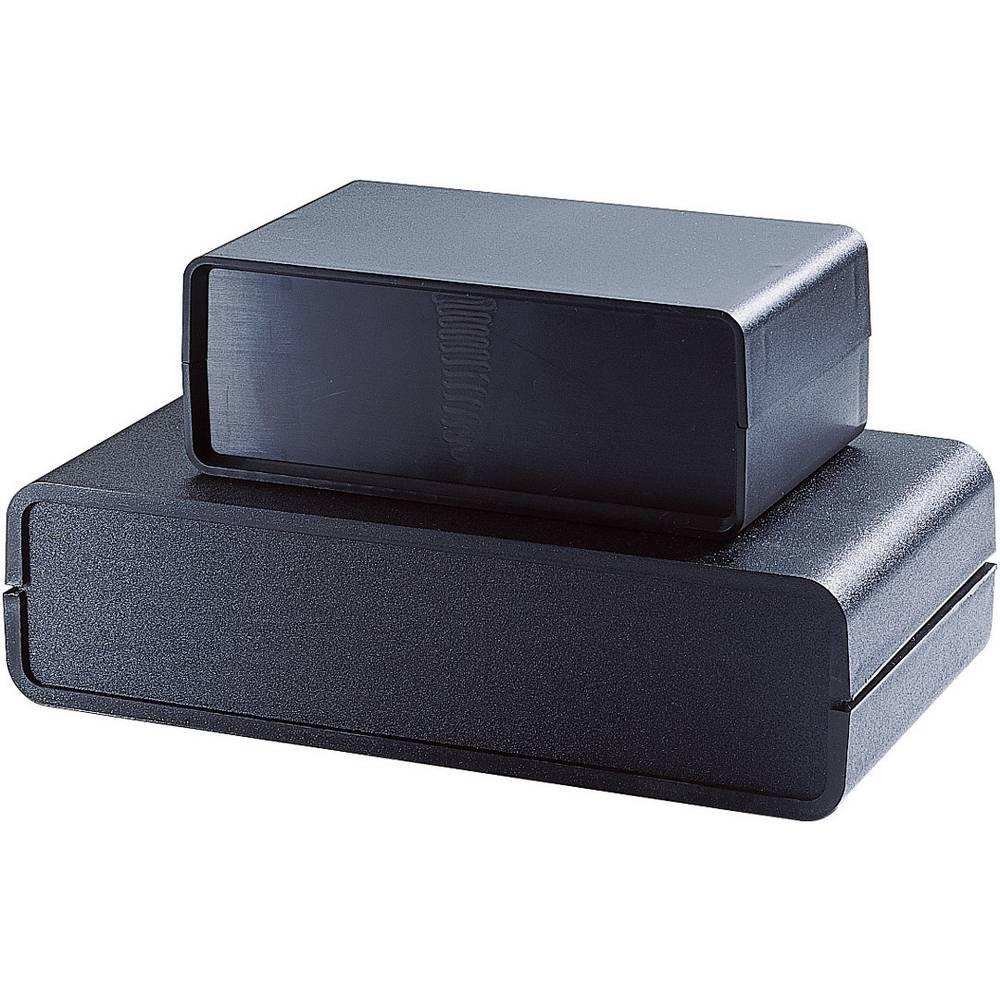 Strapubox kućište v obliki posode ABS (Š xVxG) 155 x 59 x96 mm crna SCHALENGEHAEUSE 7050