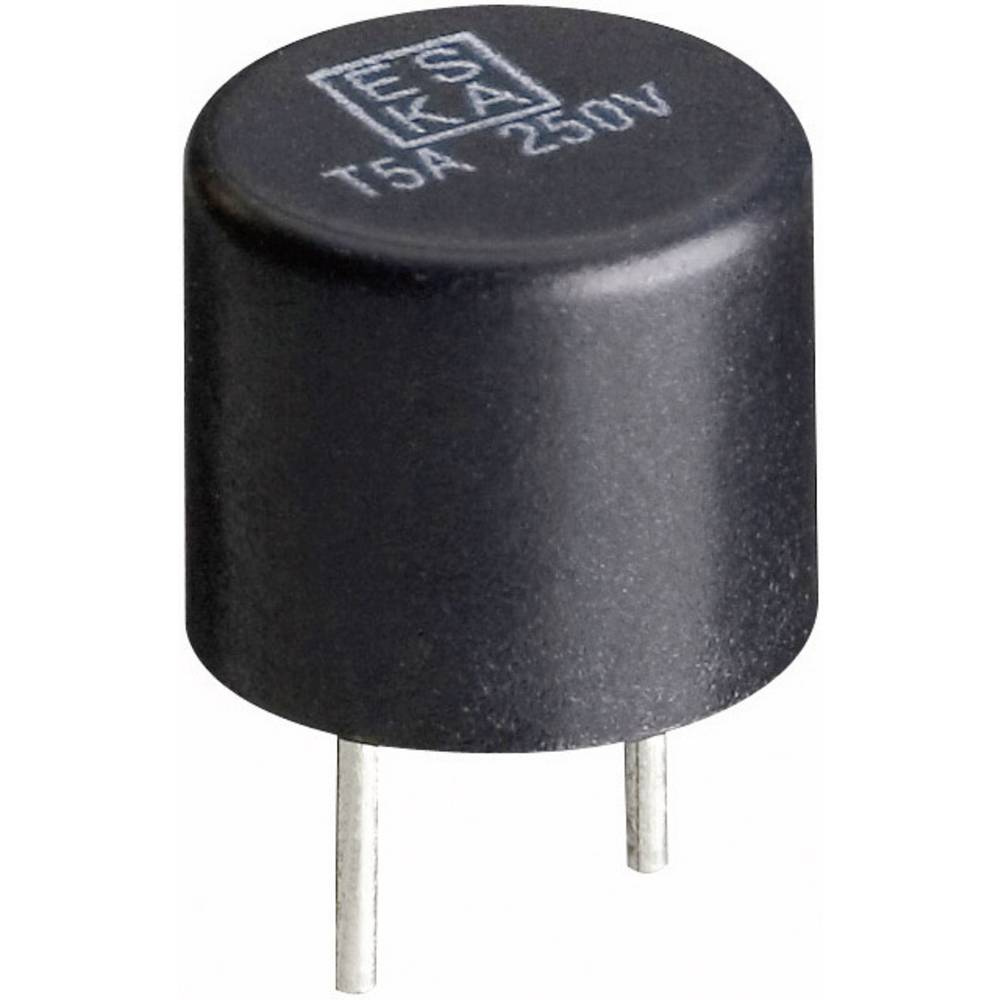 ESKA miniaturna varovalka RM, 5,08 mm 885012 (ŠxV) 8.4 mm x 7.6 mm hitra -H- 0.315 A