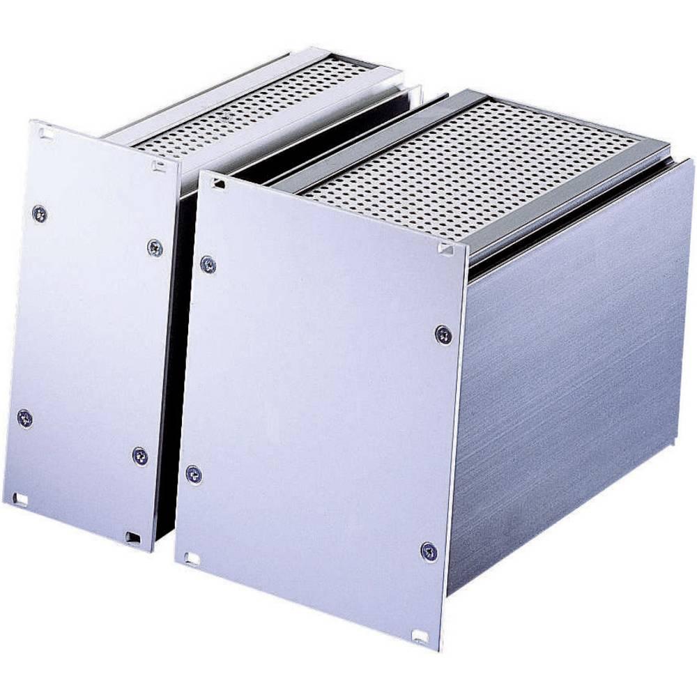 plug-in enhed (B x H x T) 40.4 x 128.4 x 166 mm Indstikskassette Frontplade: Aluminium natur-anodiseret/afdækningsplade: Alumini
