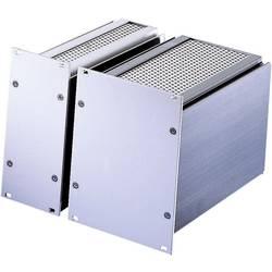Indstikskassette (B x H x T) 101.3 x 128.4 x 166 mm Indstikskassette Frontplade: Aluminium natur-anodiseret/afdækningsplade: Alu