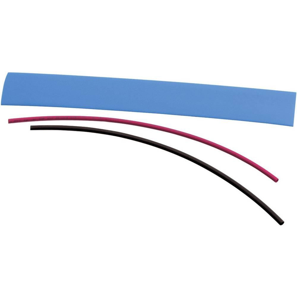 Skrčljive cevke DSG Canusa Deray-H, rdeče, 1 komplet
