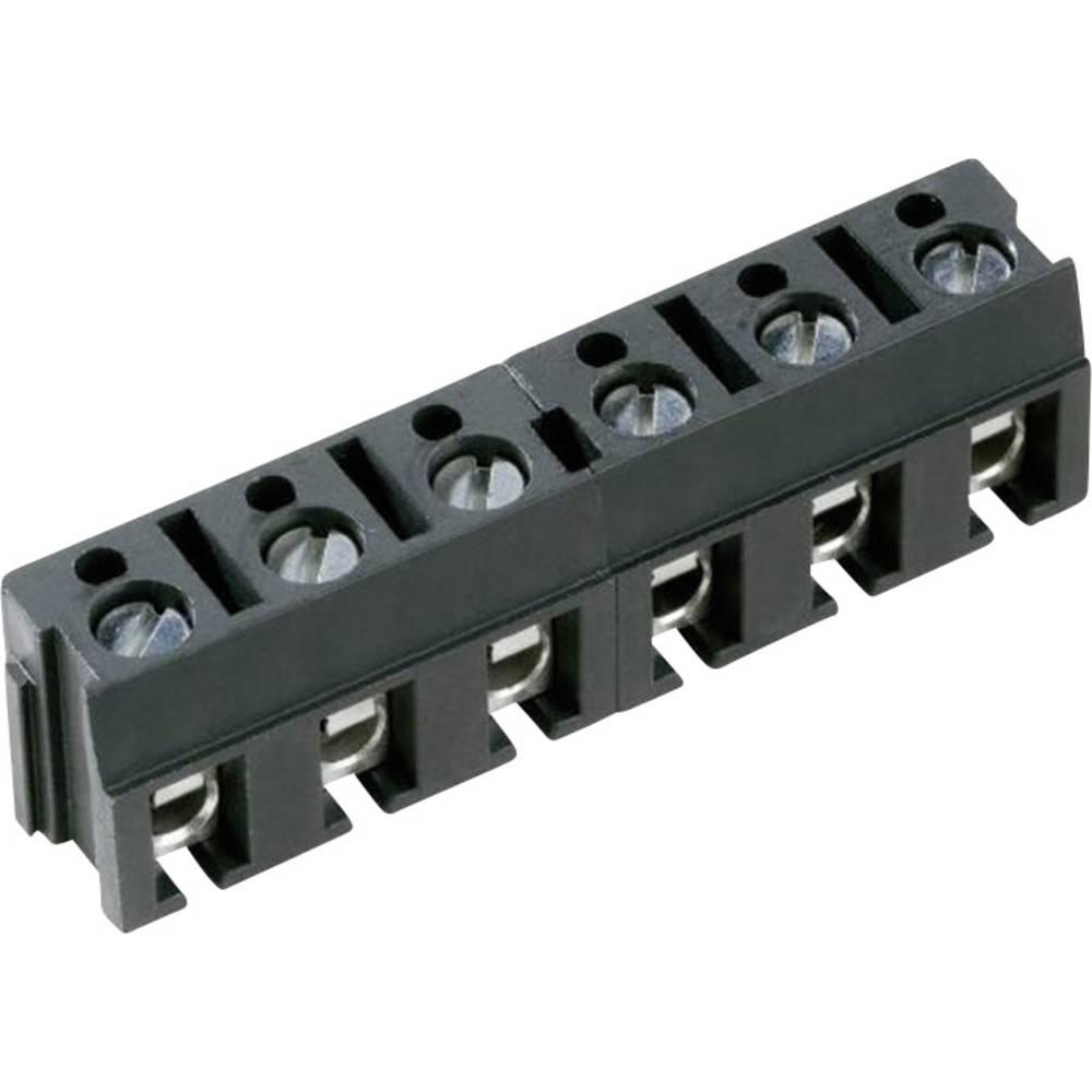 Skrueklemmeblok PTR AK 110/3DS-7,5-V 2.50 mm² Poltal 3 Grå 1 stk