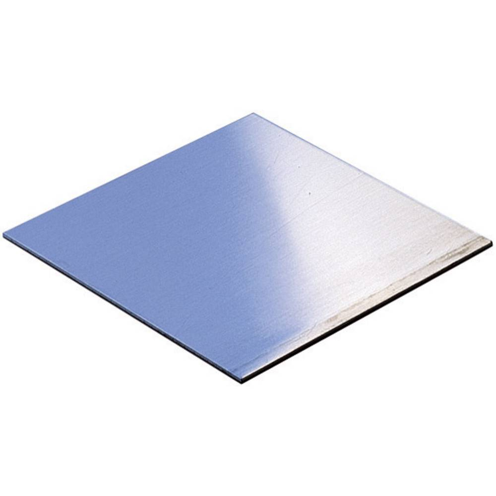 Monteringsplade WR-Typ 2015-1 (L x B x H) 100 x 100 x 1.5 mm Aluminium Aluminium 1 stk