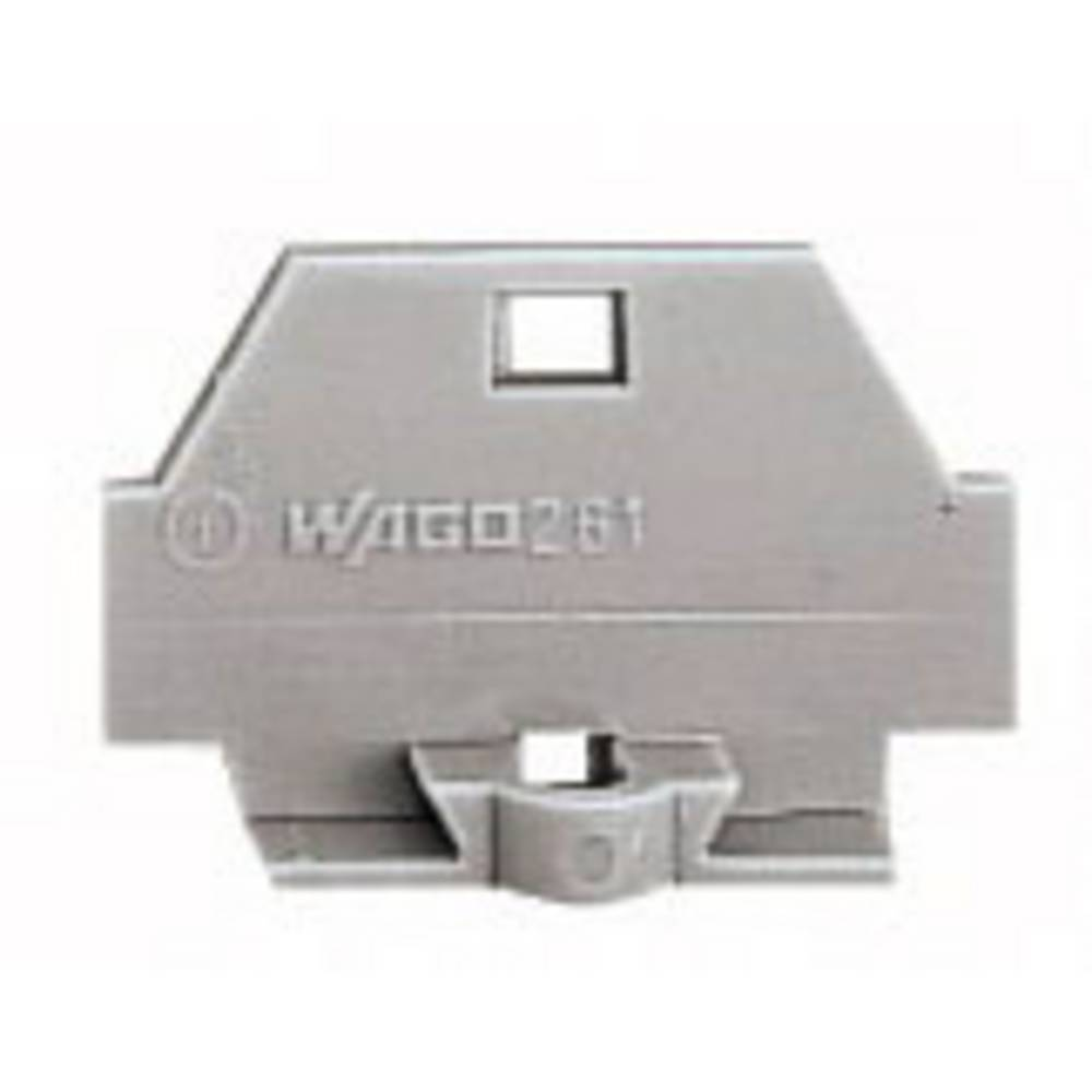 WAGO 260-361 Screwless Single Terminal - Grey