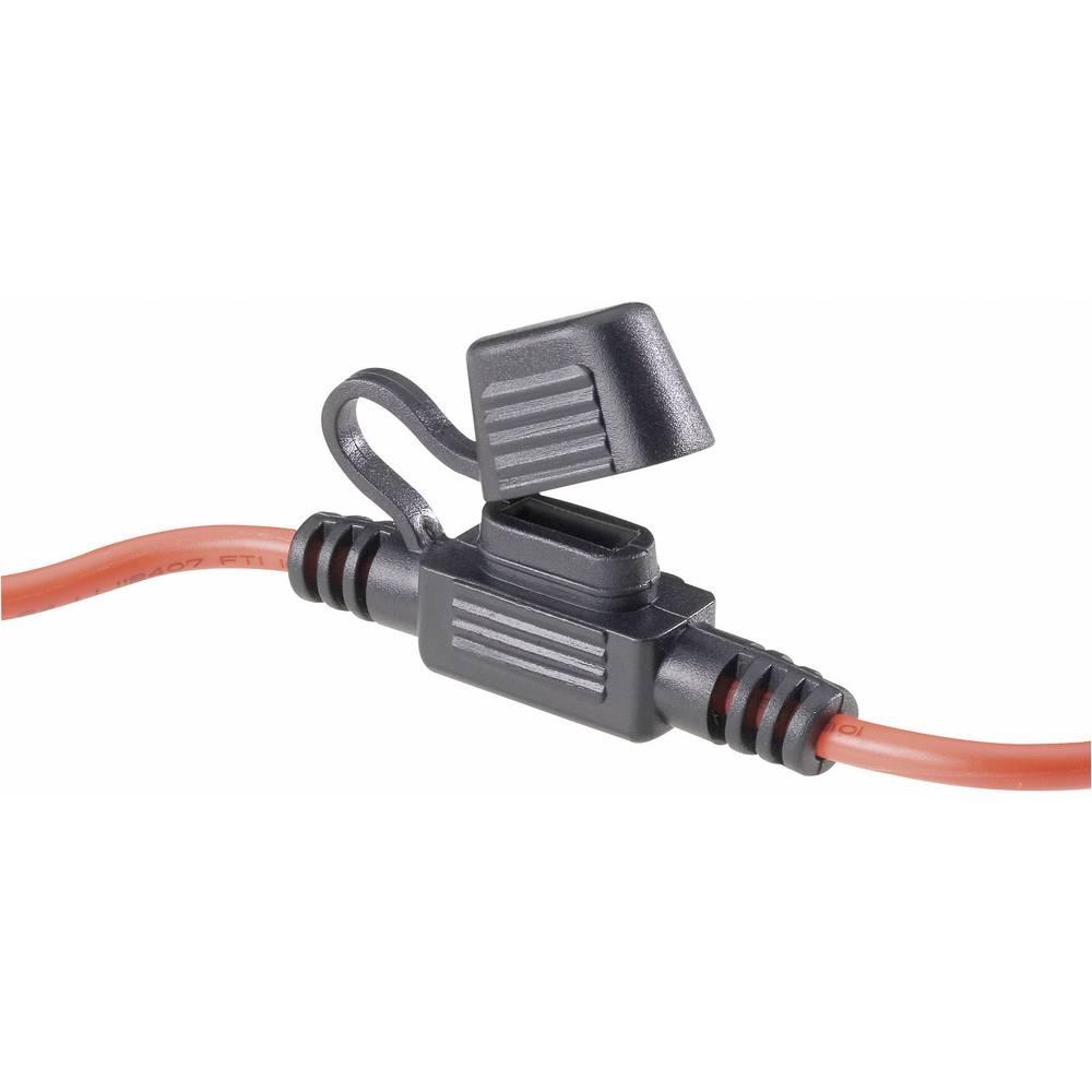 SCI držač za avtomobilski plosnati osigurač, bez LED