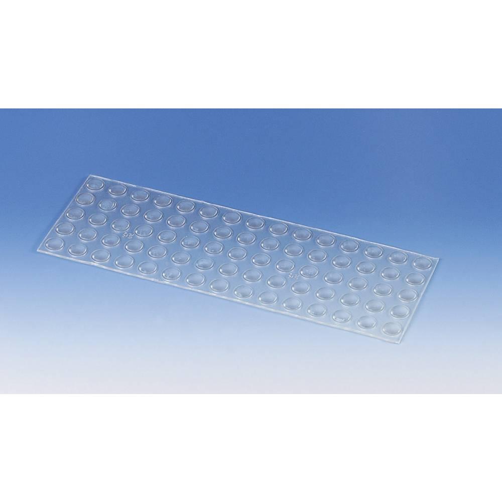PB Fastener samoljepljive nogice (O x V) 7.9 mm x 2.16 mm PVC prozirne BS-27-CL-R-L75
