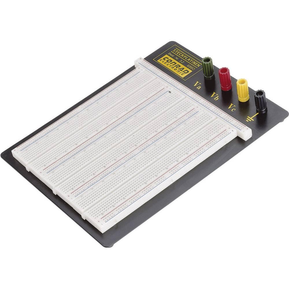 Preizkusna plošča EIC-106, 175x165x8.5mm, 4 priključne sponke