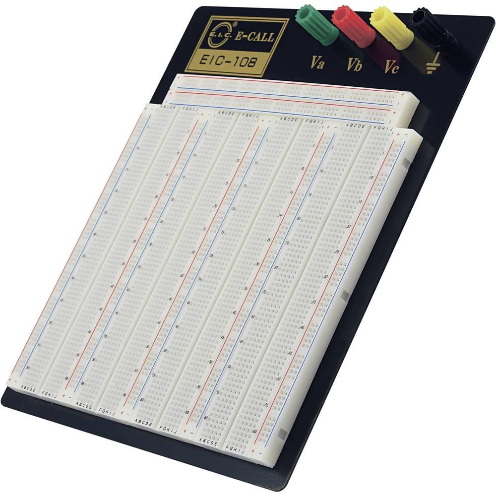 Preizkusna ploščica, skupno št. polov 2520 (D x Š x V) 185 x 190 x 8.5 mm TRU COMPONENTS EIC-108 1 kos