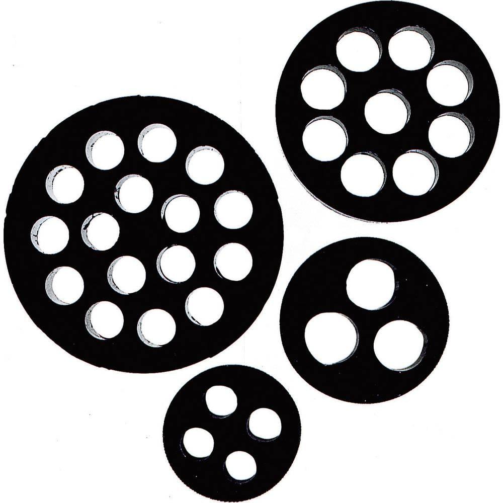 Tesnilni vložek za več kablov M32 nitril butadien-kavčuk črne barve LappKabel SKINTOP® DIX-M32 1 kos