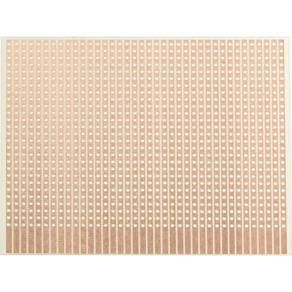 WR Rademacher Laboratorijska ploščica (D x Ĺ x V) 80 x 50x1.5 mm Mere rastra 2.54 mm E VK C-906-1-EP