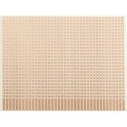 Experimentierplatine (value.1292427) Epoxid (L x B) 80 mm x 50 mm 35 µm Rastermål 2.54 mm WR Rademacher WR-Typ 906-1 Indhold 1 s